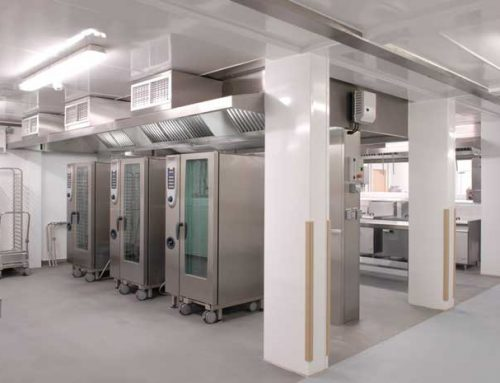 Large Permanent Kitchen at HMP Wayland