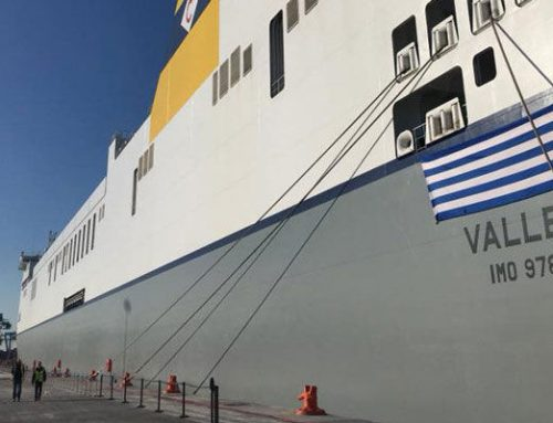 Christening of the MV Celine at Dublin Port